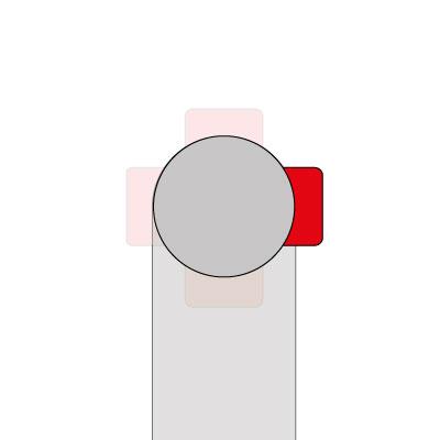 Wasseranschluss - rechts