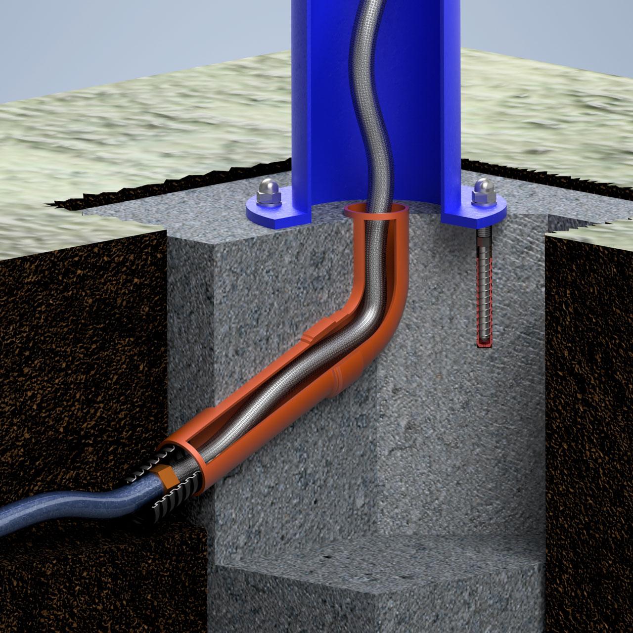 "Wasserzapfsäule Aluminium ""Classic"" - 1/2 Zoll System"