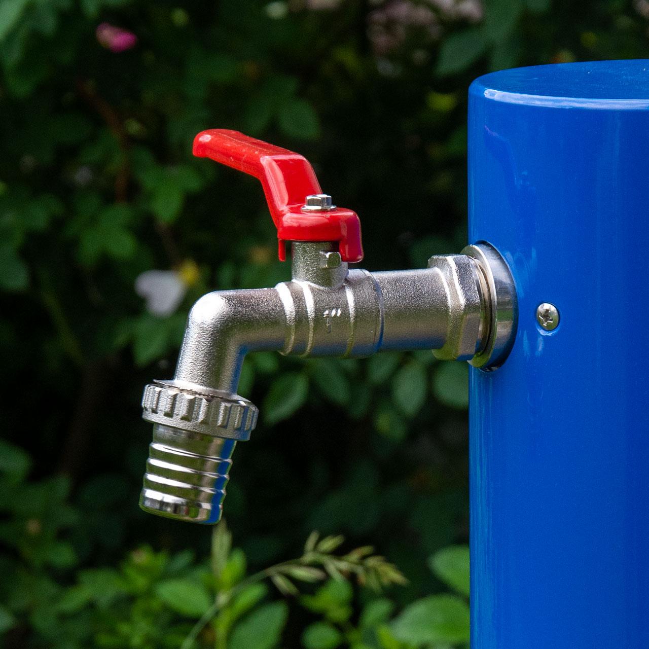 "Wasserzapfsäule Aluminium ""MAX"" - 1 Zoll System"
