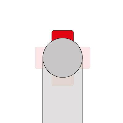 Wasseranschluss - hinten