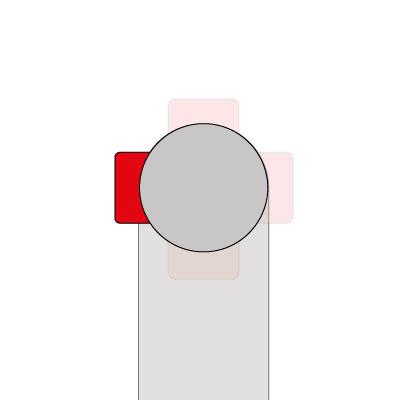 Wasseranschluss - links